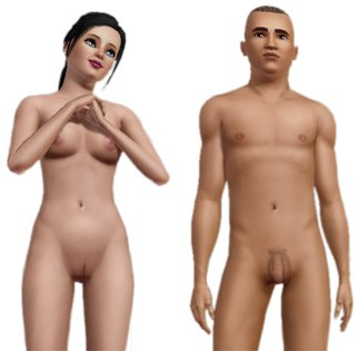sims 3 nude